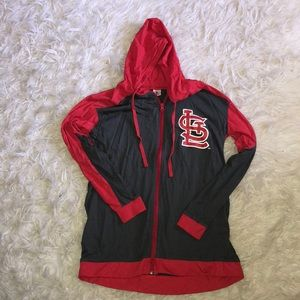 STL Cardinals hooded jacket